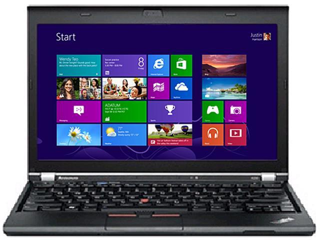 ThinkPad Laptop X Series X230 Intel Core i5 3230M (2.60 GHz) 4 GB Memory 500 GB HDD HD 4000 12.5