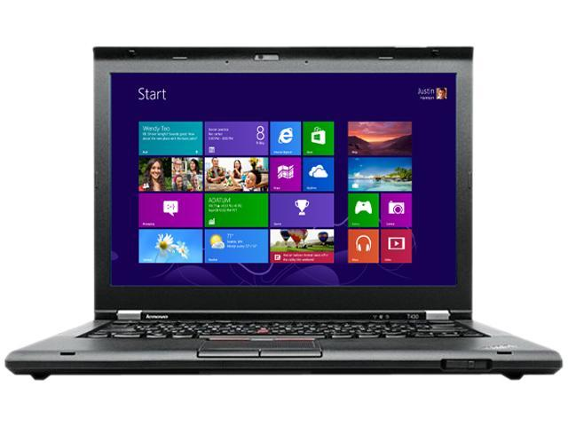 "ThinkPad T Series T430 (23446WU) Intel Core i7 3520M 2.9 GHz 14.0"" Windows 8 Pro 64-bit Notebook"