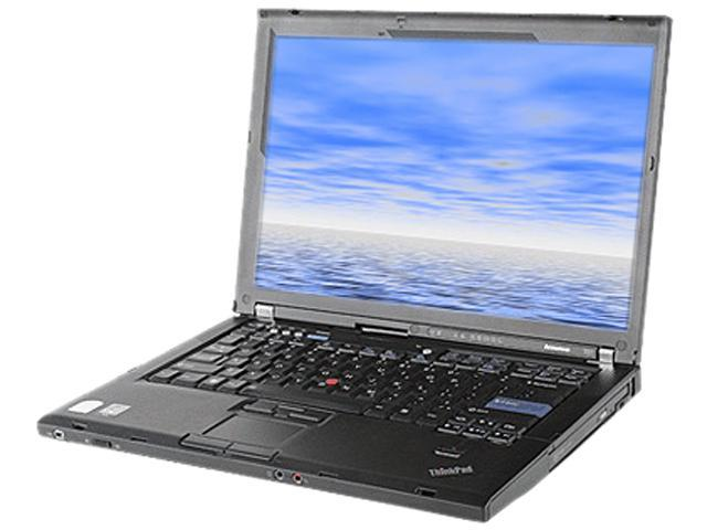 ThinkPad Laptop T Series T61 7661-WFK Intel Core 2 Duo T7300 (2.00 GHz) 1GB DDR2 Memory 80 GB HDD 14.1
