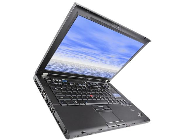 ThinkPad Laptop T Series T61 7665-11U Intel Core 2 Duo T7100 (1.80 GHz) 1GB DDR2 Memory 80 GB HDD 14.1