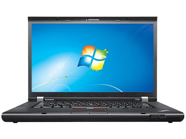 "ThinkPad T Series T530 (23594LU) Intel Core i5-3230M 2.6GHz 15.6"" Windows 7 Professional 64-bit Notebook"