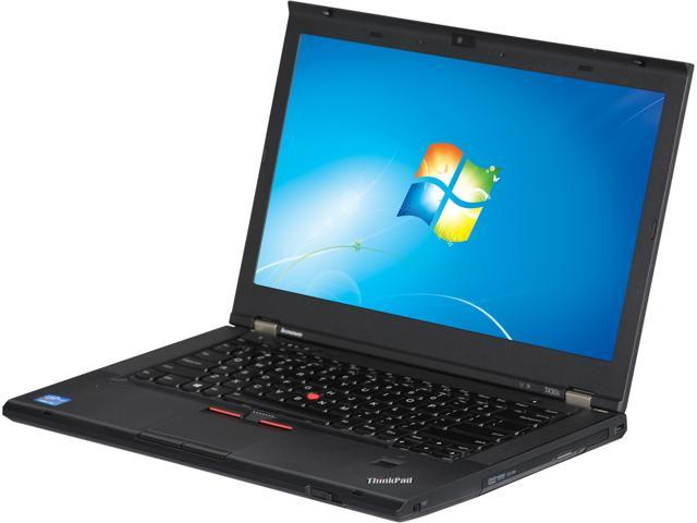 ThinkPad Laptop T Series T430s Intel Core i5 3230M (2.60 GHz) 4 GB Memory 500 GB HDD NVIDIA NVS 5200M 14.0