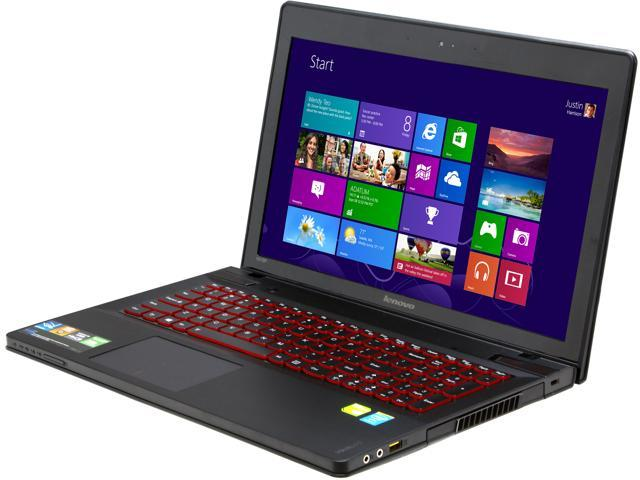 "Lenovo IdeaPad Y510p (59362706) Gaming Laptop Intel Core i7-4700MQ 2.4GHz 15.6"" Windows 8"