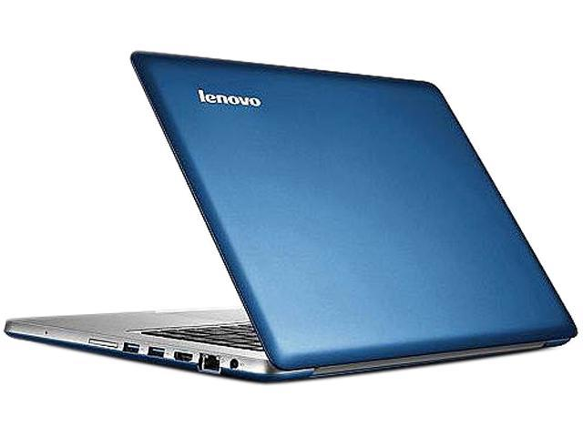 "Lenovo IdeaPad U410 (4376XC6) Intel Core i5 8 GB Memory 750 GB HDD 24 GB SSD 14"" Ultrabook Windows 8 64-Bit"