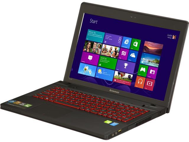 Lenovo IdeaPad Y510p (59375625) Gaming Laptop 4th Generation Intel Core i7 4700MQ (2.40 GHz) 8 GB Memory 1 TB HDD Dual NVIDIA GeForce GT 750M SLI 2 x 2GB GDDR5 15.6