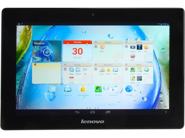 Lenovo IdeaTab S6000 Tablet  1.20GHz Quad-Core 1GB LPDDR2 RAM 16GB  10.1