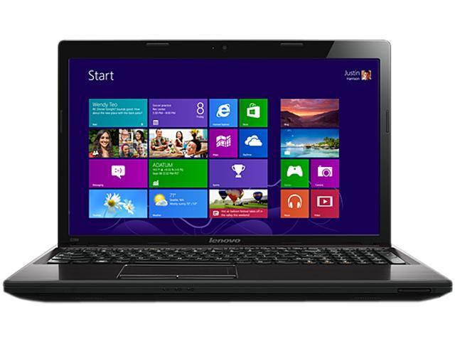 "Lenovo Laptop Essential G580 Intel Core i3 3120M (2.50 GHz) 4 GB Memory 500 GB HDD Intel HD Graphics 4000 15.6"" Windows 8 ..."