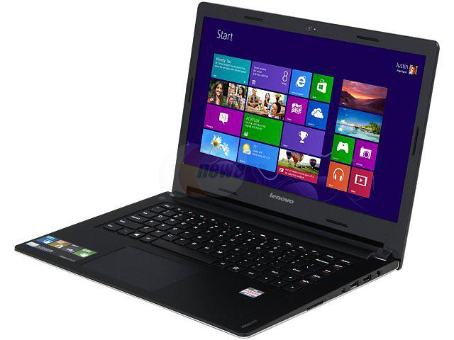 Lenovo Laptop IdeaPad S405 AMD A6-Series A6-4455M (2.10 GHz) 4 GB Memory 500 GB HDD AMD Radeon HD 7500G 14.0