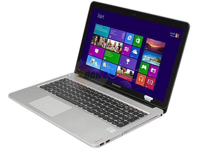 "Lenovo IdeaPad U510 Intel Core i5 6 GB Memory 750 GB HDD 24 GB SSD 15.6"" Ultrabook Windows 8 6-bit"
