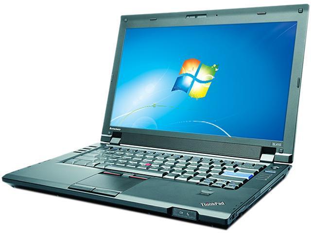 Lenovo Laptop ThinkPad SL410 Intel Core 2 Duo T6570 (2.10 GHz) 2 GB Memory 160 GB HDD Intel GMA 4500M 14.0