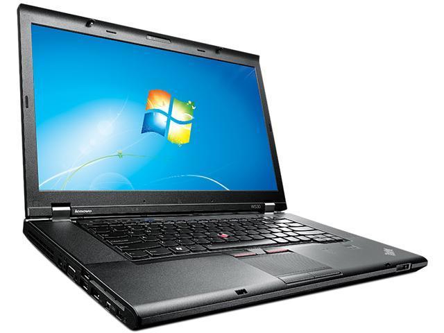 """ThinkPad W530 (24415QU) Intel Core i7-3840QM 2.8GHz 15.6"""" Windows 7 Professional 64-bit Notebook"""