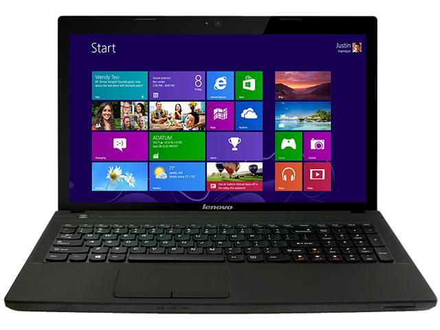 Lenovo Laptop IdeaPad N586 (59RF0172) AMD A6-Series A6-4400M (2.70 GHz) 4 GB Memory 500 GB HDD AMD Radeon HD 7520G 15.6