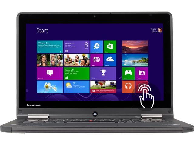 ThinkPad YOGA 2-in-1 Ultrabook -  Intel Core i7 4500U (1.80GHz) 8GB RAM 256GB SSD 12.5