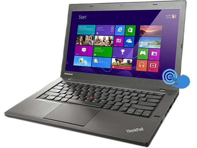 """ThinkPad T Series T440 (20B6002AUS) Intel Core i5 4 GB Memory 500 GB HDD 14"""" Touchscreen Ultrabook Windows 8 Pro 64bit"""