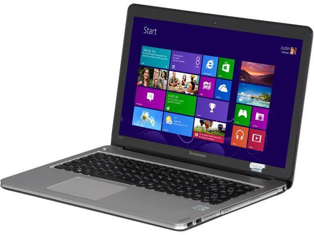 Lenovo Laptop IdeaPad U510 (59RF0511) Intel Core i5 3337U (1.80 GHz) 8 GB Memory 1 TB HDD 24 GB SSD Intel HD Graphics 4000 ...