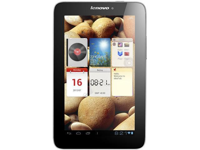 "Lenovo IdeaTab 7.0"" Touchscreen Tablet A2107 Cortex-A9 1 GHz 512MB RAM 8GB Internal Storage Android 4.0 (Ice Cream Sandwich)"