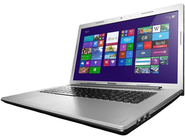 Lenovo Laptop IdeaPad Z710 (59406361) Intel Core i7 4700MQ (2.40 GHz) 16 GB, DDR3L, 1600 MHz (2 x 8GB) Memory 1 TB HDD 8 ...