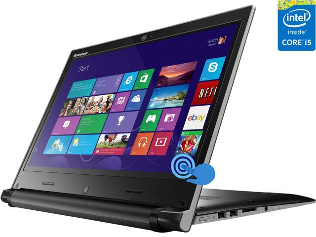 "Lenovo IdeaPad Flex 14 (59395988) Intel Core i5 8 GB Memory 128 GB SSD 14"" Touchscreen Ultrabook Windows 8"