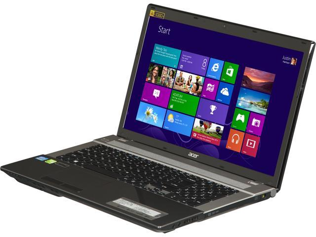 "Acer Laptop Aspire V3-771G-9441 Intel Core i7 3630QM (2.40 GHz) 8 GB Memory 1 TB HDD NVIDIA GeForce GT 730M 17.3"" Windows ..."