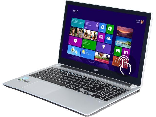 Acer Laptop Aspire V5-571PG-9814 Intel Core i7 3537U (2.00 GHz) 8 GB Memory 1 TB HDD NVIDIA GeForce GT 710M 15.6