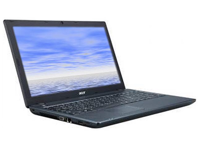 "Acer Laptop TravelMate TM57446870 Intel Core i5 480M (2.66 GHz) 4 GB Memory 320 GB HDD Intel HD Graphics 15.6"" Windows 7 ..."