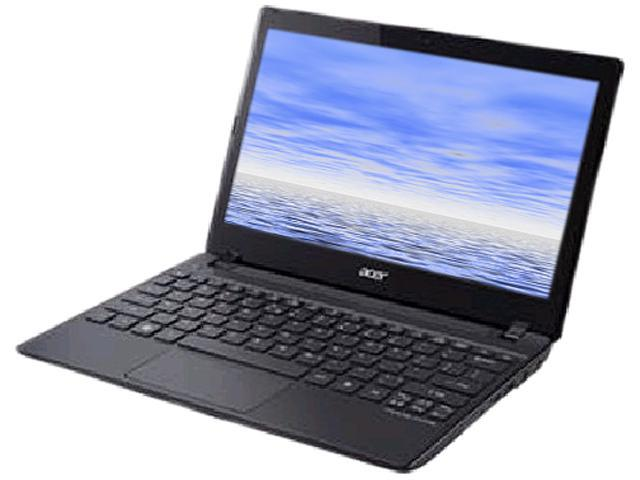 Acer Laptop TravelMate B TMB113-E-4808 (NX.V7PAA.013) Intel Pentium 987 (1.5 GHz) 4 GB Memory 320 GB HDD Intel HD Graphics 11.6