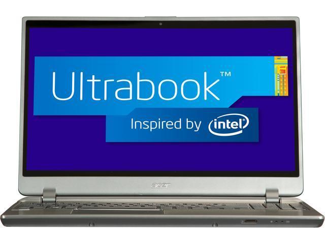 """Acer Aspire M M5-581T-6807 Intel Core i5 6 GB Memory 500 GB HDD 20 GB SSD 15.6"""" Ultrabook Windows 8 64-Bit"""