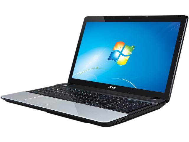 "Acer Aspire E1-531-4665 Intel Pentium B960(2.2GHz) 4GB Memory 500GB HDD 15.6"" Notebook Windows 7 Home Premium 64-Bit"