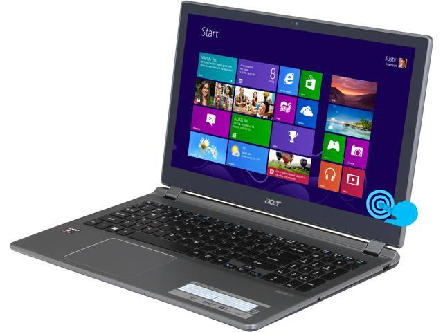 Acer Laptop Aspire V5-552P-8483 AMD A8-Series A8-5557M (2.10 GHz) 8 GB Memory 500 GB HDD AMD Radeon HD 8550G 15.6