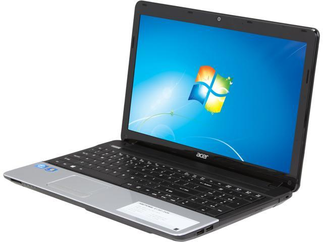 Acer Aspire E1-531-2438 Notebook Intel Celeron 1005M (1.90GHz) 4GB DDR3 Memory 500GB HDD Intel GMA HD Graphics 15.6