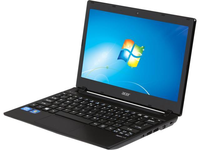 Acer Laptop Aspire V5-131-2629 Intel Celeron 1007U (1.5 GHz) 4GB DDR3 Memory 500 GB HDD Intel GMA HD Graphics 11.6