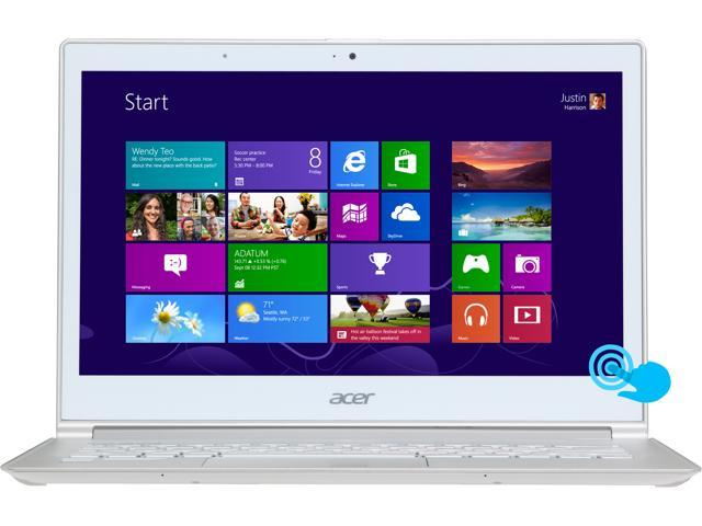 Acer S7 Intel Core i5 4200U (1.60GHz) 8GB DDR3 128GB SSD 13.3