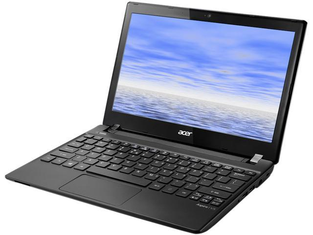 "Acer Laptop Aspire V5-131-2887 Intel Celeron 847 (1.1 GHz) 4GB DDR3 Memory 320 GB HDD Intel HD Graphics 11.6"" Linux"