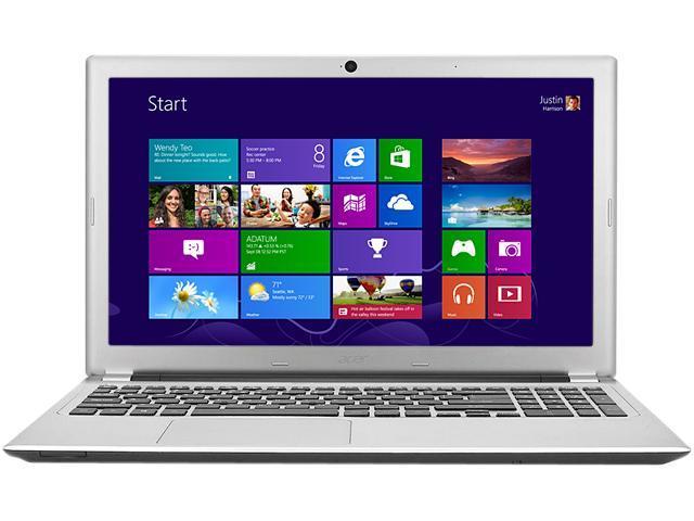 Acer Laptop V5-572P-4853 Intel Pentium 2127U (1.90 GHz) 6GB DDR3 Memory 500 GB HDD 15.6