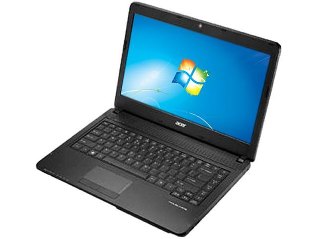 Acer Laptop TravelMate TMP243-M-6625 Intel Core i3 3120M (2.50 GHz) 4 GB Memory 500 GB HDD Intel HD Graphics 4000 14.0