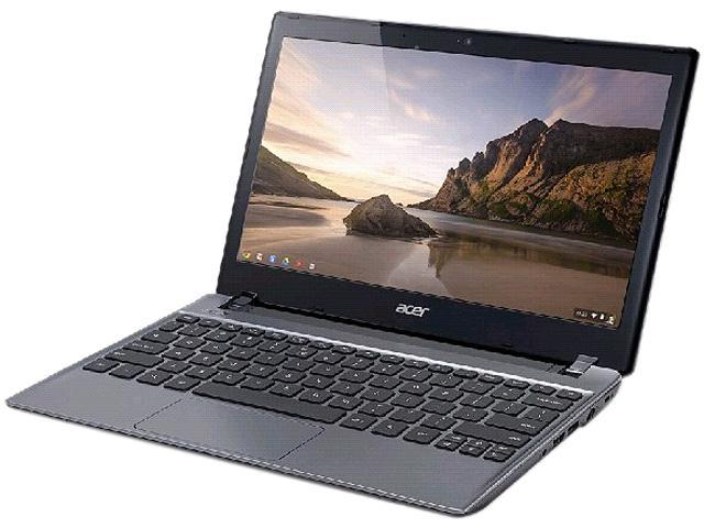 "Acer Aspire C710-2815 Chromebook Intel Celeron 847 (1.10GHz) 4GB Memory 16GB SSD Intel HD Graphics 11.6"" LED Chrome OS"
