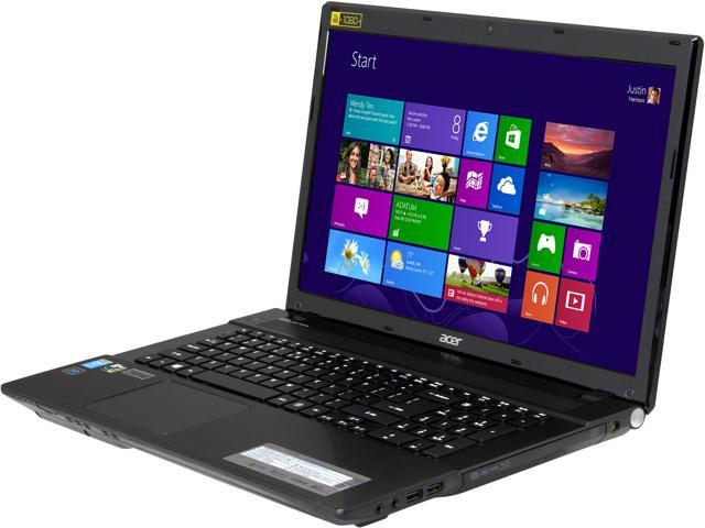 "Acer Aspire V3-772G-9460 Gaming Notebook Intel Core i7-4702MQ 2.2GHz 17.3"" Windows 8 64-bit"