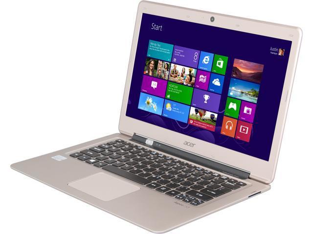 Acer Laptop Aspire S S3-391-6448 Intel Core i3 2377M (1.50 GHz) 4 GB Memory 500 GB HDD 20 GB SSD Intel HD Graphics 3000 13.3