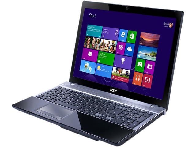 Acer Laptop Aspire V3-571-9401 Intel Core i7 3632QM (2.20 GHz) 4 GB Memory 500 GB HDD Intel HD Graphics 4000 15.6