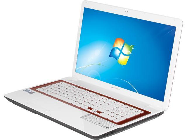 """Gateway NV76R45u Intel Core i3-3110M 2.4GHz 17.3"""" Windows 7 Home Premium 64-bit Notebook"""