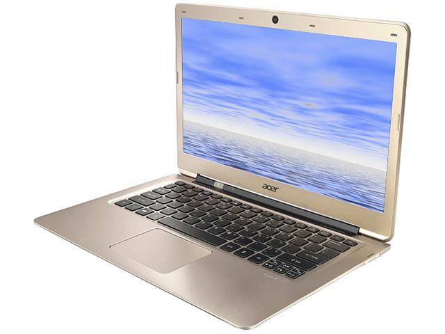 Acer Laptop Aspire S3-371-6663 Intel Core i3 3217U (1.80 GHz) 4 GB Memory 500 GB HDD Intel HD Graphics 4000 13.3