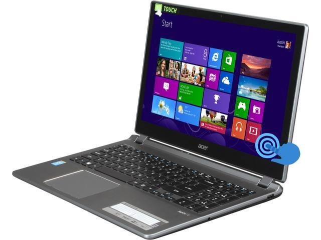 Acer Laptop Aspire V5-573P-6464 Intel Core i5 4200U (1.60 GHz) 6 GB Memory 750 GB HDD Intel HD Graphics 4400 15.6