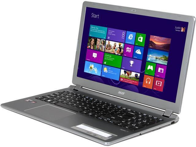 "Acer Laptop V5-552G-X852 AMD A10-Series A10-5757M (2.50 GHz) 8 GB Memory 1 TB HDD AMD Radeon HD 8750M 15.6"" Windows 8"