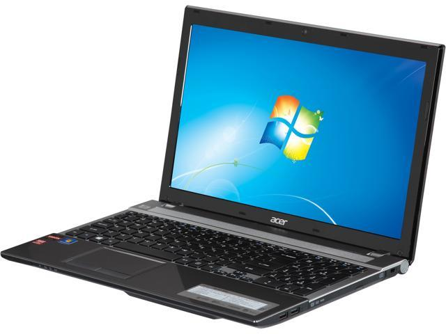 Acer Laptop Aspire V3 V3-551-8442 AMD A8-Series A8-4500M (1.90 GHz) 4 GB Memory 750 GB HDD AMD Radeon HD 7640G 15.6