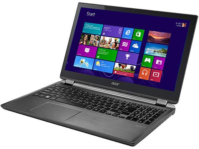 Acer Laptop Aspire M5-582PT-6852 Intel Core i5 3337U (1.80 GHz) 6 GB Memory 500 GB HDD Intel HD Graphics 4000 15.6