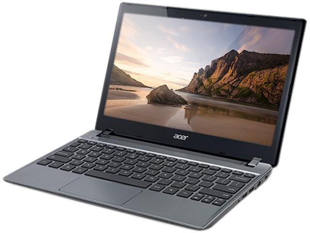 Acer C7102822 Chromebook Intel Celeron 1007U (1.5 GHz) 4 GB Memory 16 GB SSD 11.6