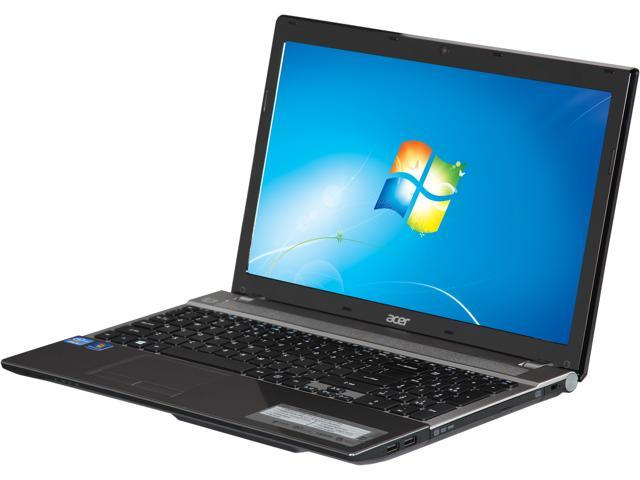 Acer Laptop Aspire V3-571-6492 Intel Core i5 3230M (2.60 GHz) 4 GB Memory 500 GB HDD Intel HD Graphics 4000 15.6