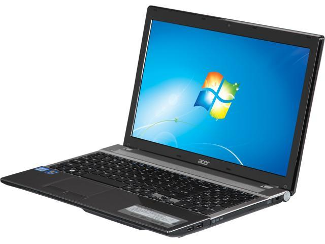 Acer Laptop Aspire V3-571-9677 Intel Core i7 3632QM (2.20 GHz) 8 GB Memory 500 GB HDD Intel HD Graphics 4000 15.6