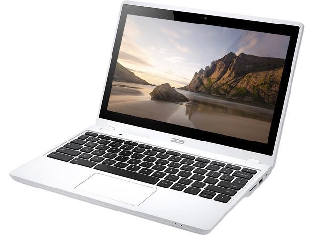 Acer C720P-2666 Chromebook Intel Celeron 2955U (1.40 GHz) 2 GB Memory 32 GB SSD Intel HD Graphics 11.6