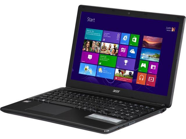 Acer Laptop Aspire E1-522-3442 AMD E1-Series E1-2500 (1.40 GHz) 6 GB Memory 500 GB HDD AMD Radeon HD 8240 15.6